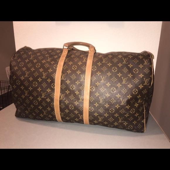 52c4b5829a8 Louis Vuitton Handbags - Authentic Louis Vuitton French company keepall 60